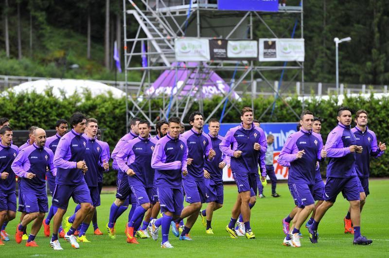Allenamento Fiorentina Bambino