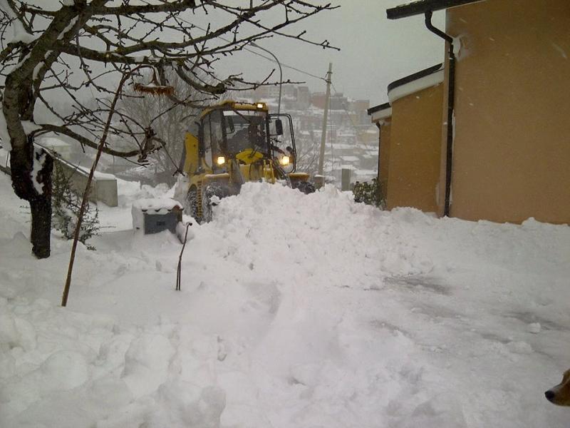 Cosa succede se non vado al lavoro per colpa della neve for Consulente d arredo cosa fa